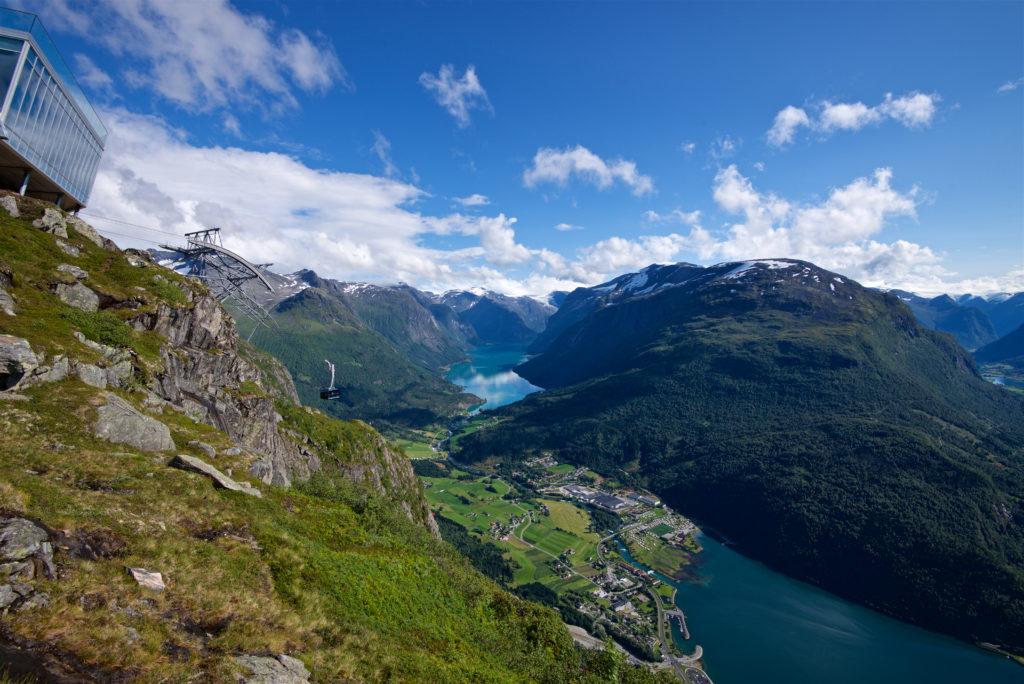 Loen Skylift, Nordfjord