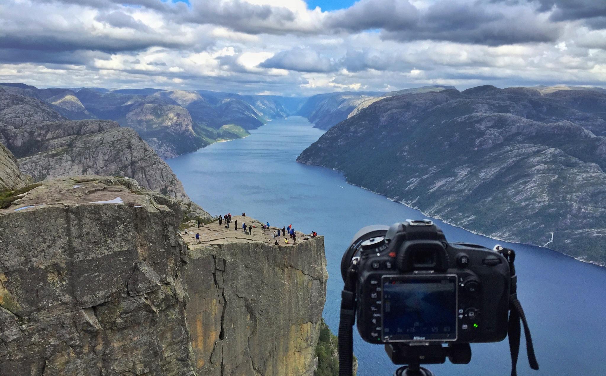 Photo Spots/Selfie-spots in the fjords