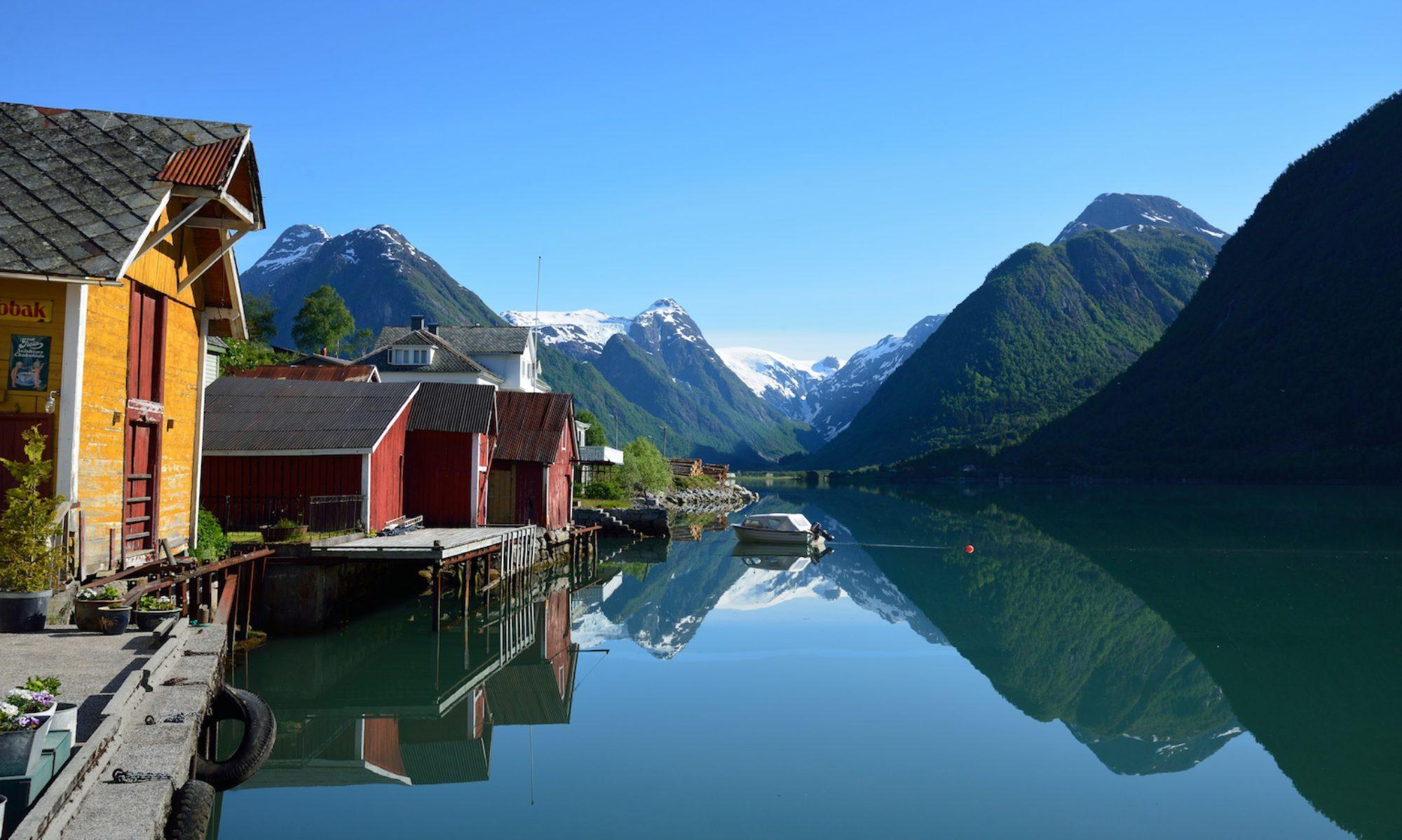 Fjærland and the Fjærlandsfjord