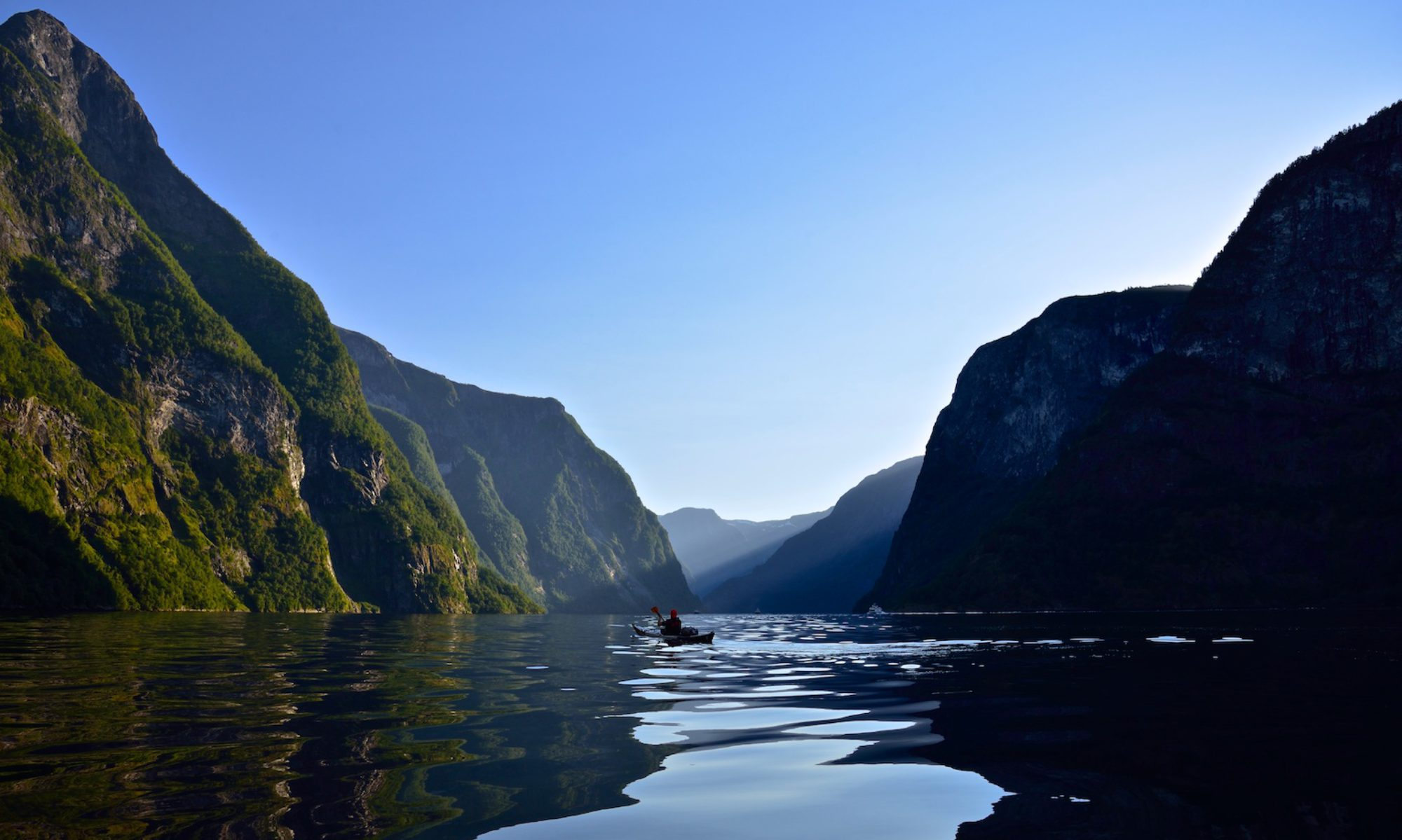 Fjordfun in the Sognefjord