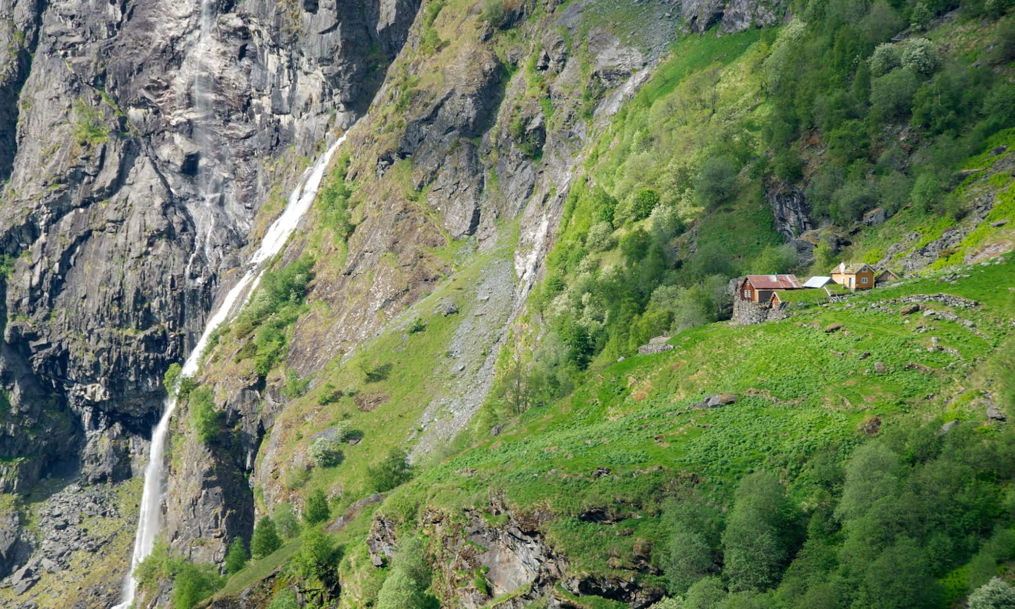 Sinjarheim Mountainfarm in the Aurlandsdalen Valley