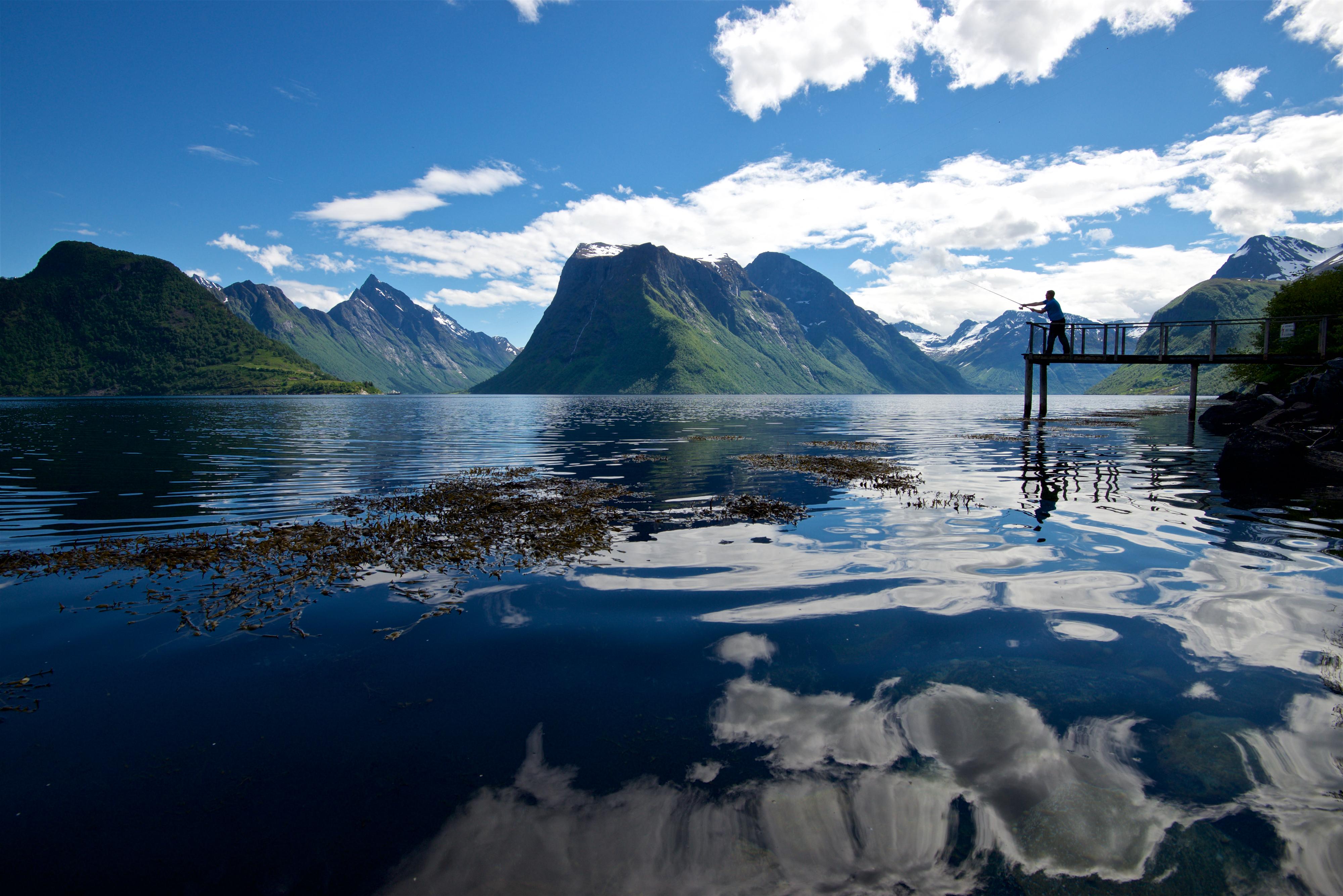 Fjords - The Hjørundfjord