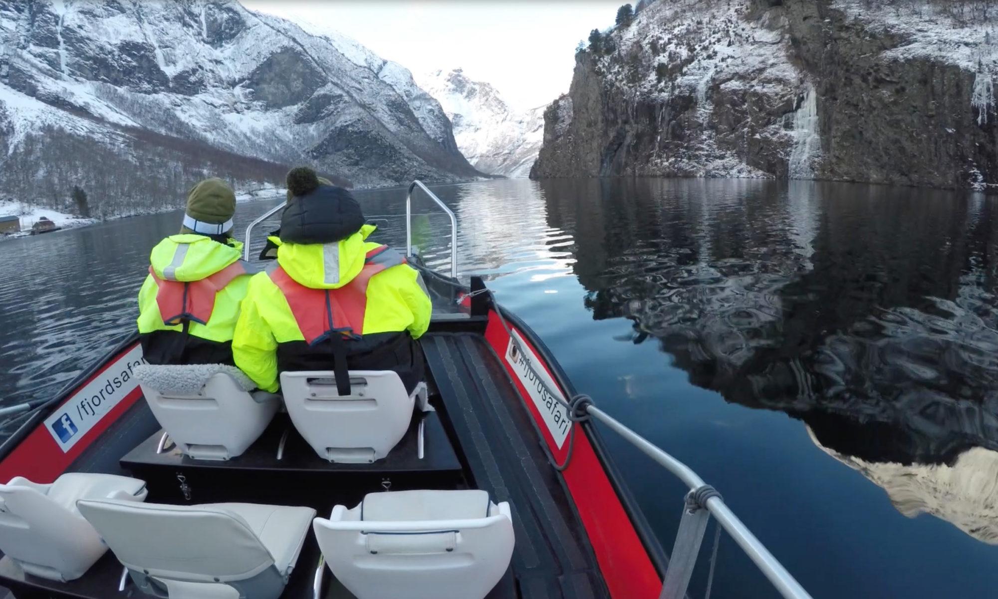 Fjordsafari on the Nærøyfjord