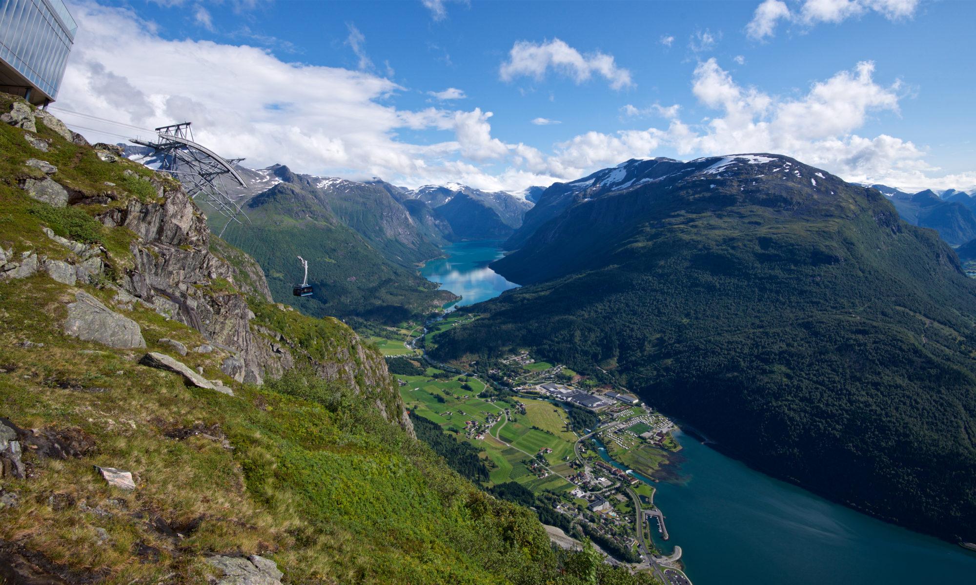 Loen Skylift in Nordfjord