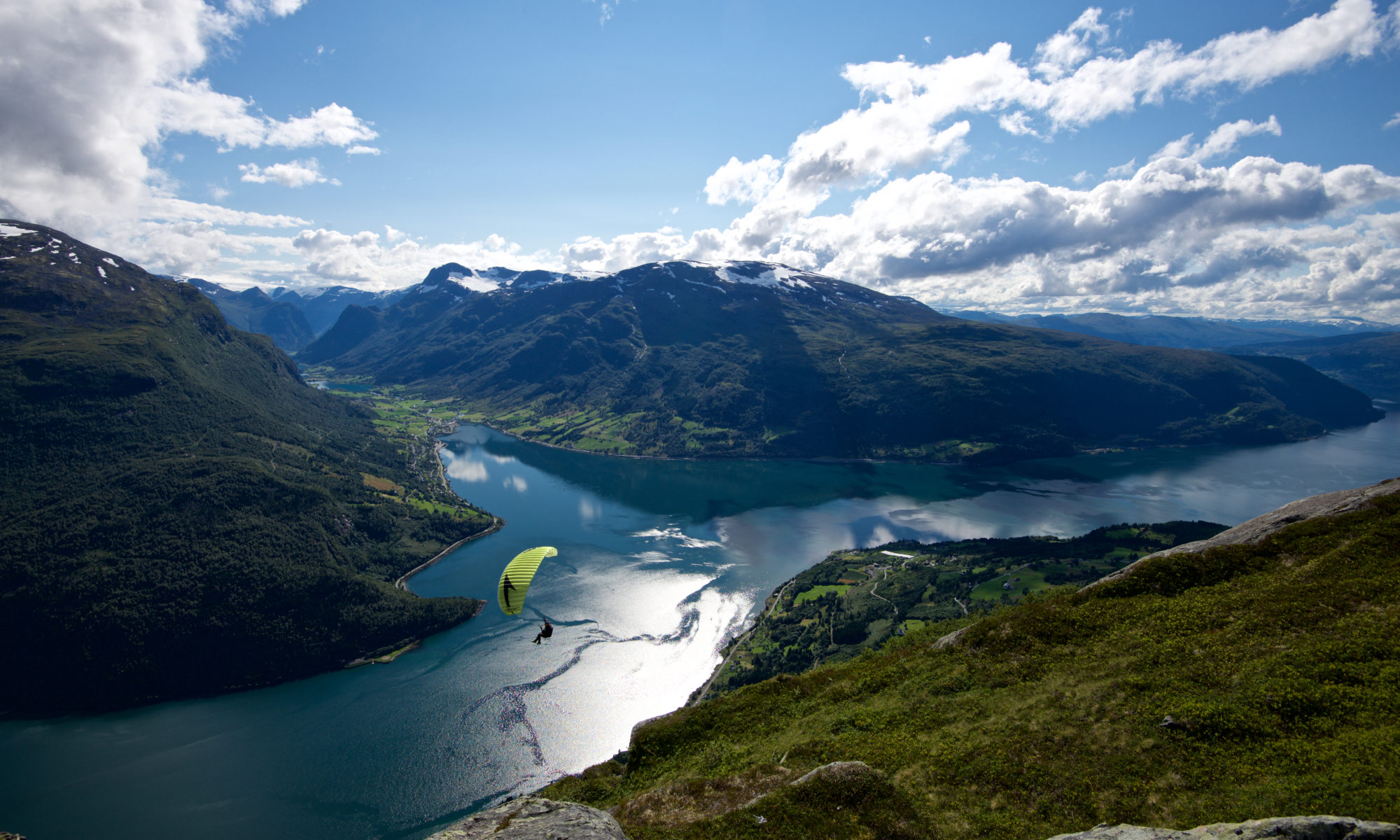 Download 130 Wallpapers from the Norwegian Fjords - For MAC and PC. View from Loen Skylift in Loen, Nordfjord