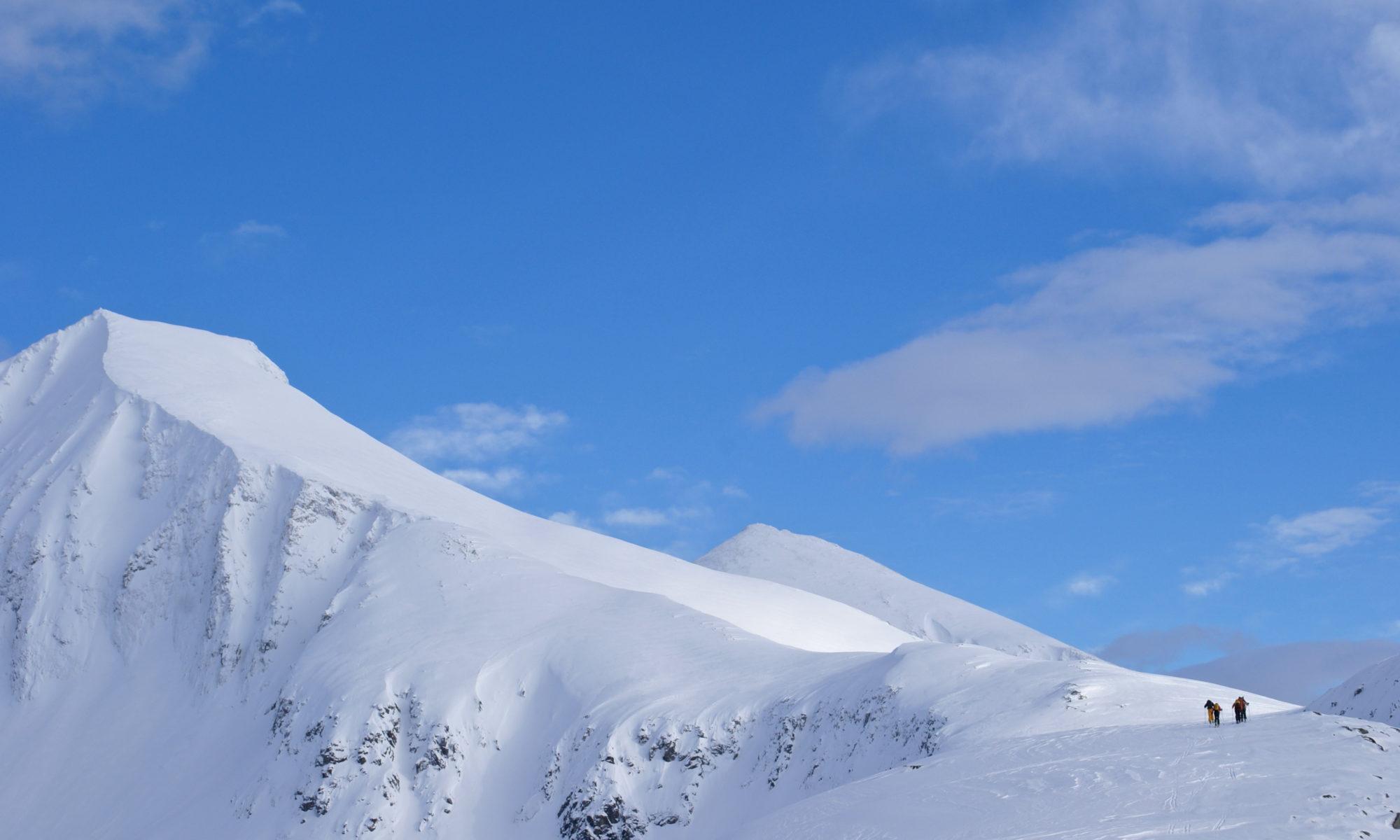 Kirketaket in Isfjorden, Romsdal.