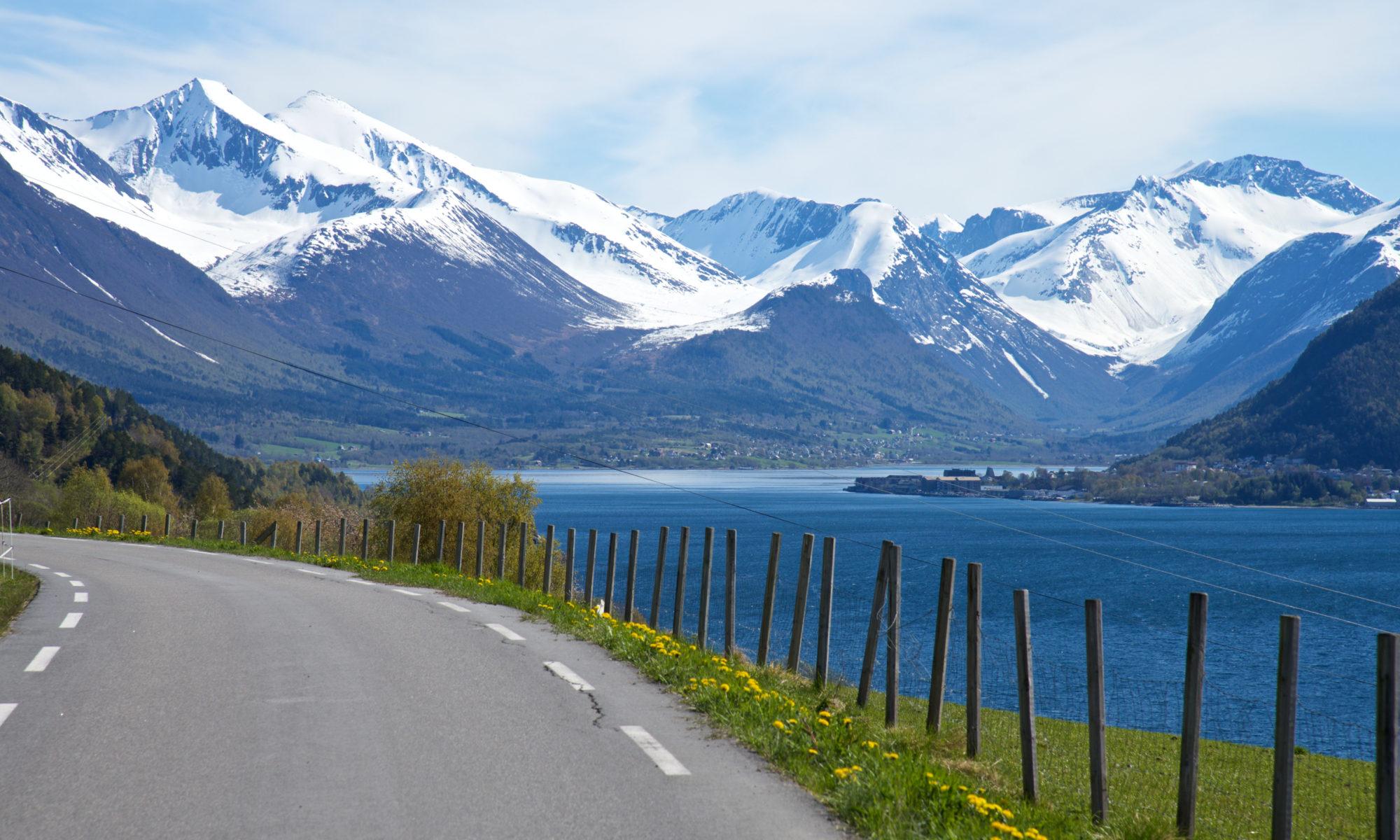 Isfjorden seen from Klungnes