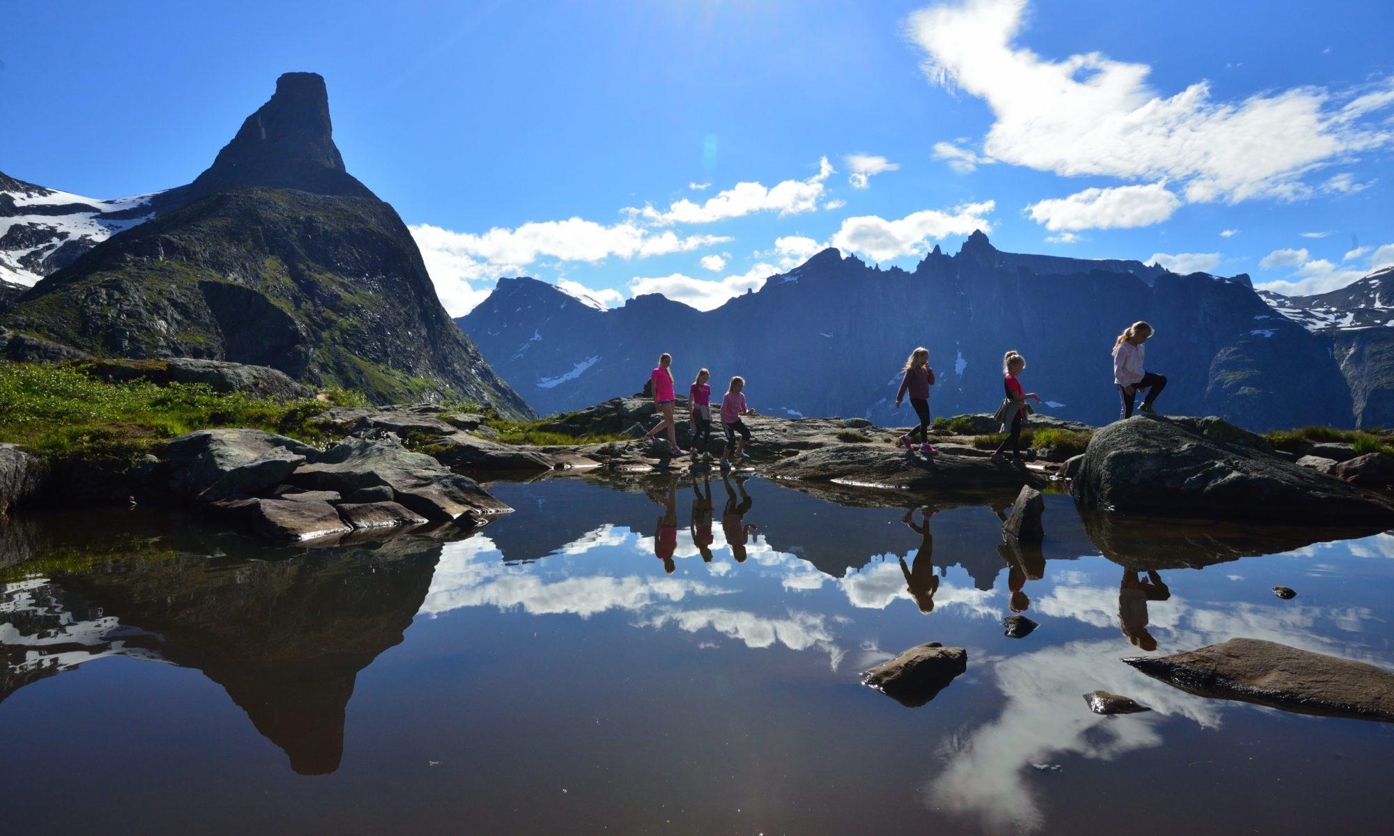 Litlefjellet in Romsdal, Norway