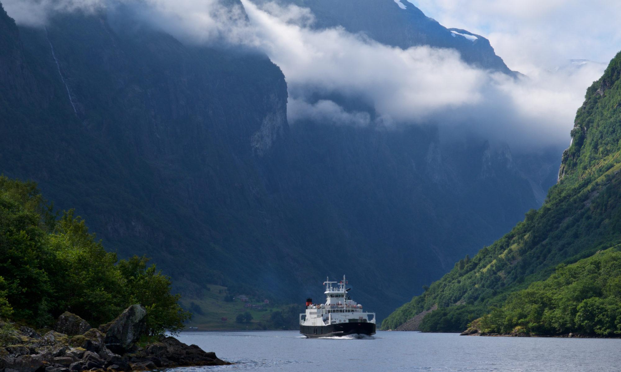 Nærøyfjord towards Gudvangen