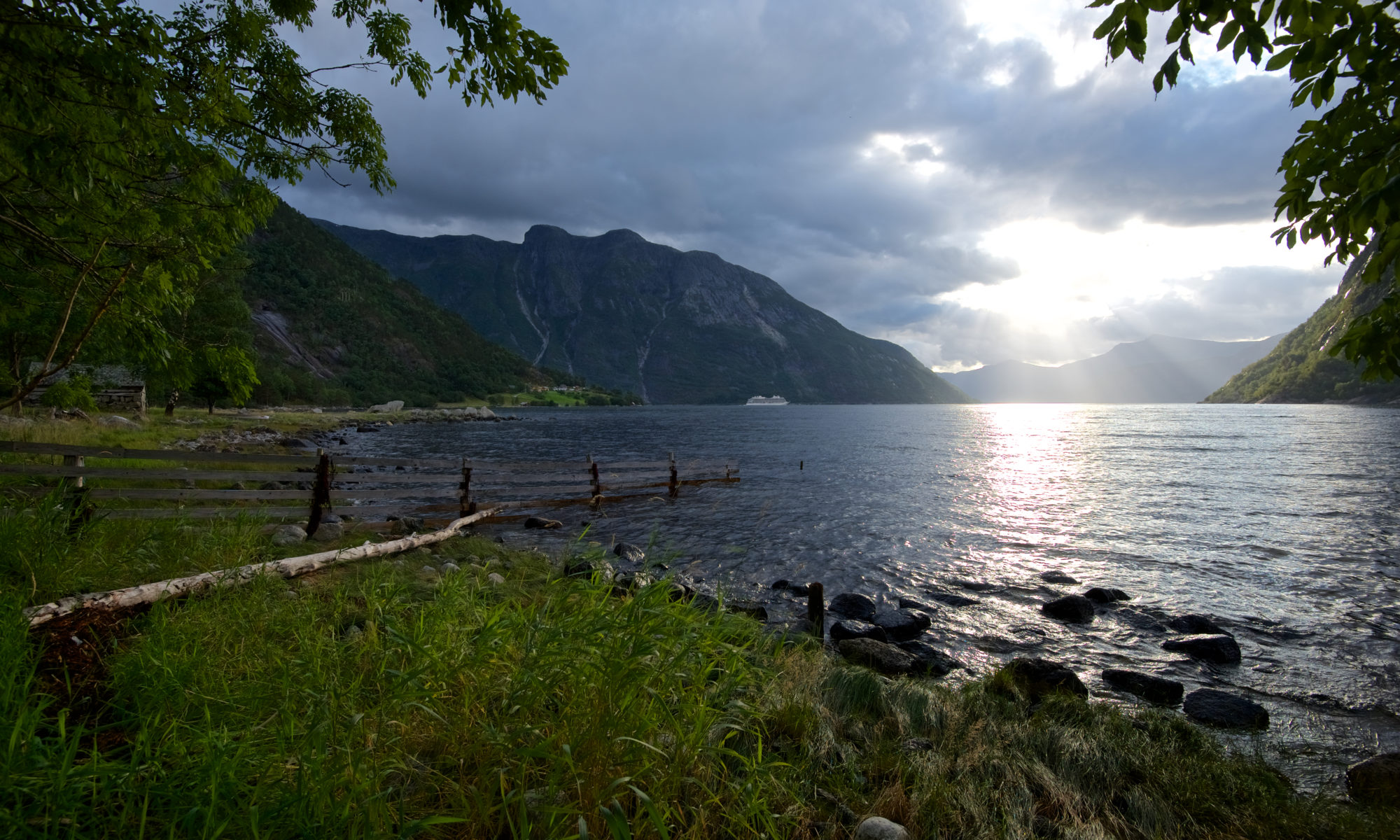 Simafjorden and Eidfjord - The innermost part of the Hardangerfjord