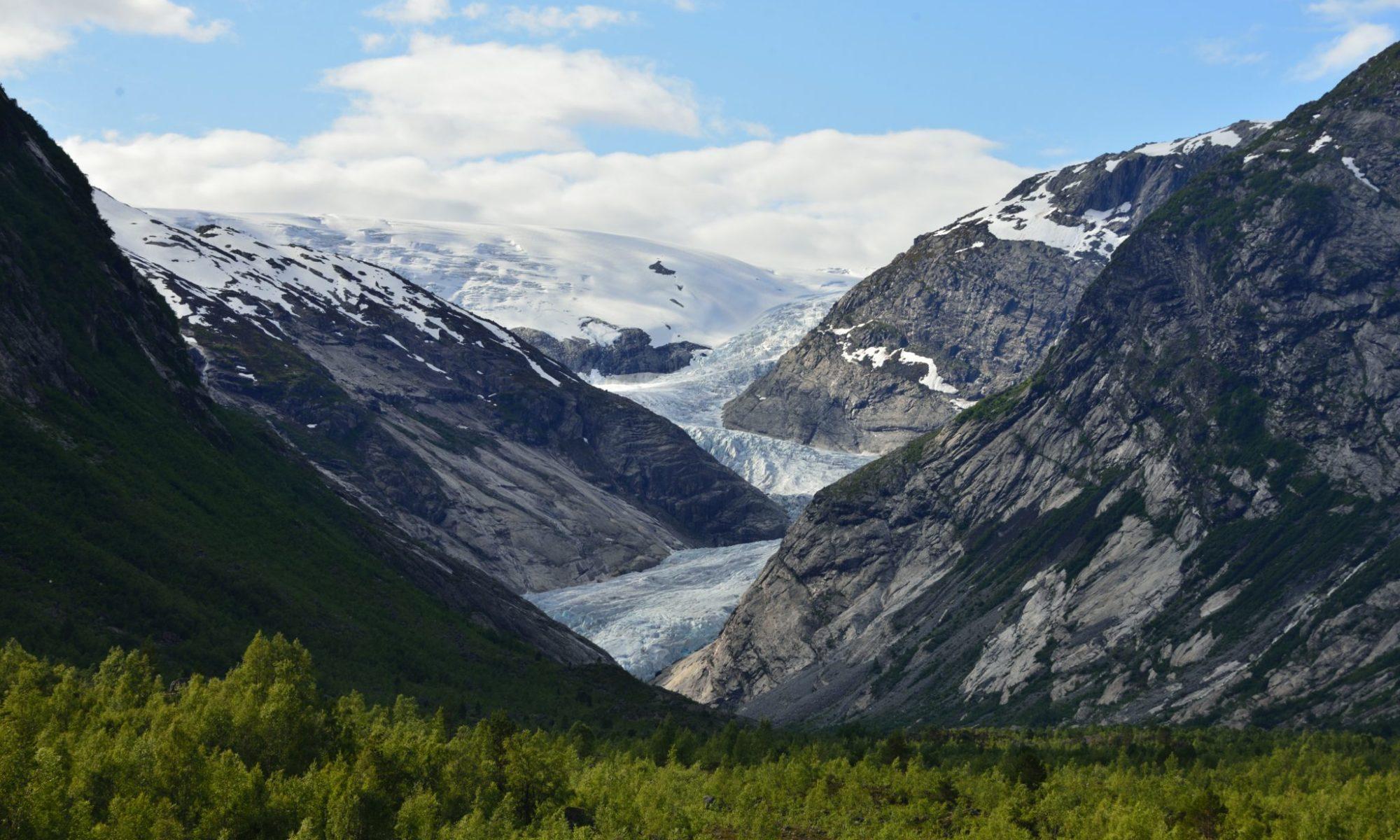 Nigardsbreen Glacier in Jostedal, Luster