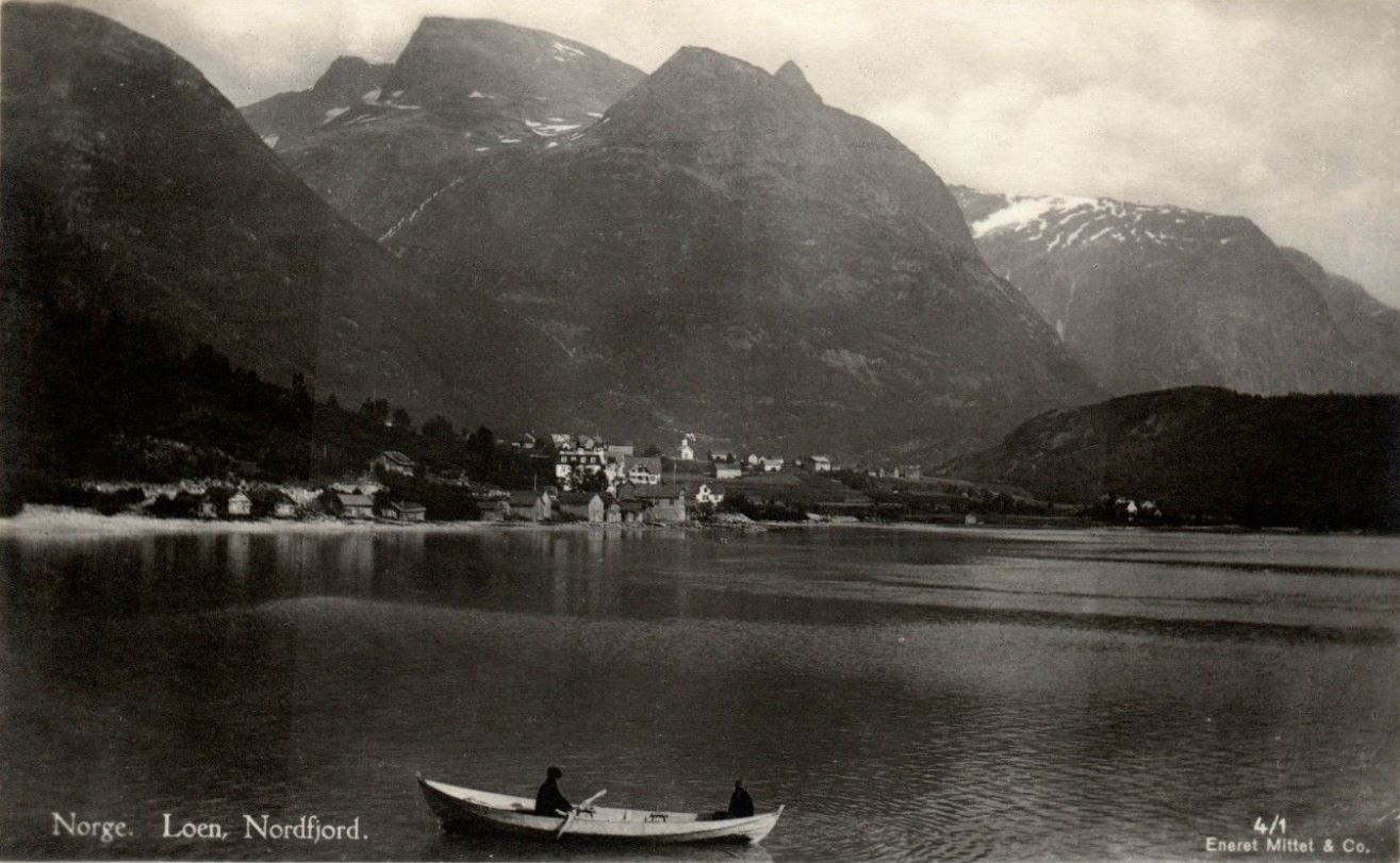 Loen in Nordfjord by the early 1900s