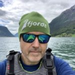 Fjords-Selfie on the Lustrafjord