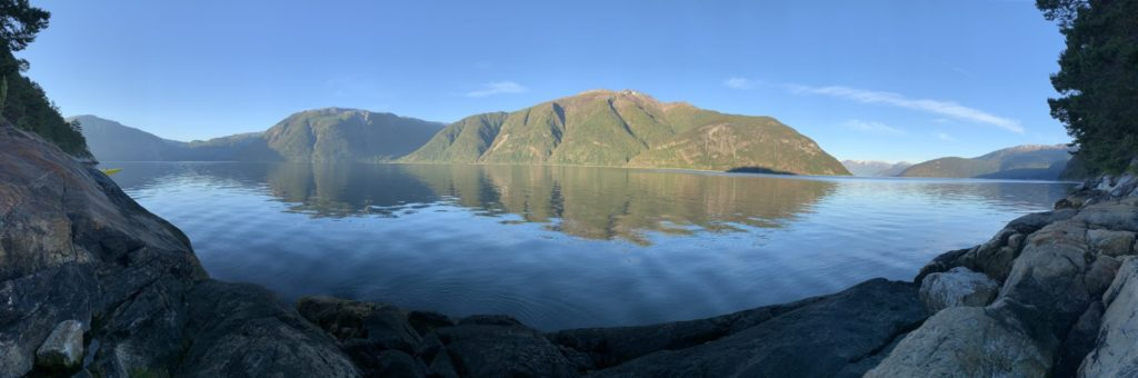 "View from ""Camp Sognefjord"""