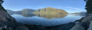 """View from """"Camp Sognefjord"""""""
