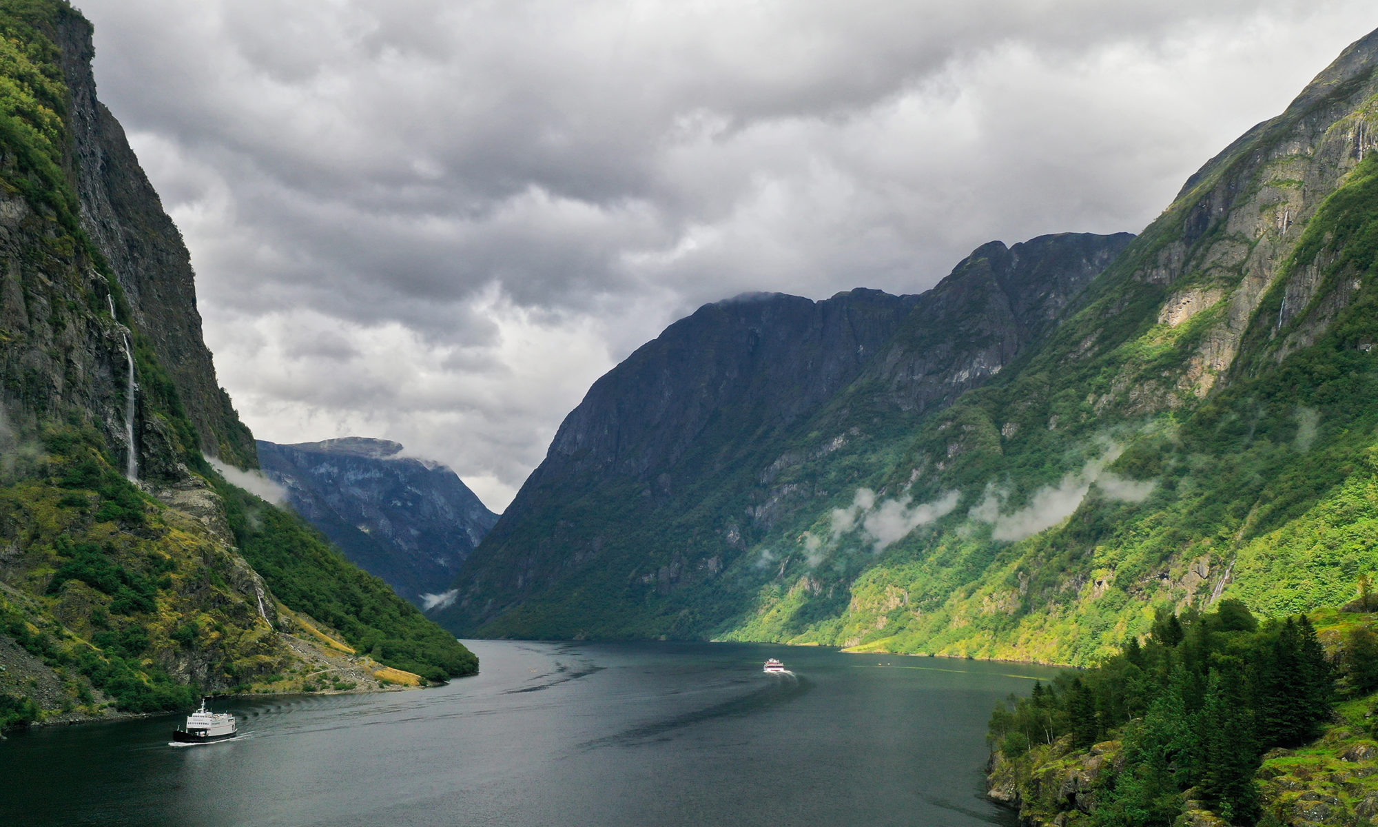 The UNESCO-Protected Nærøyfjord