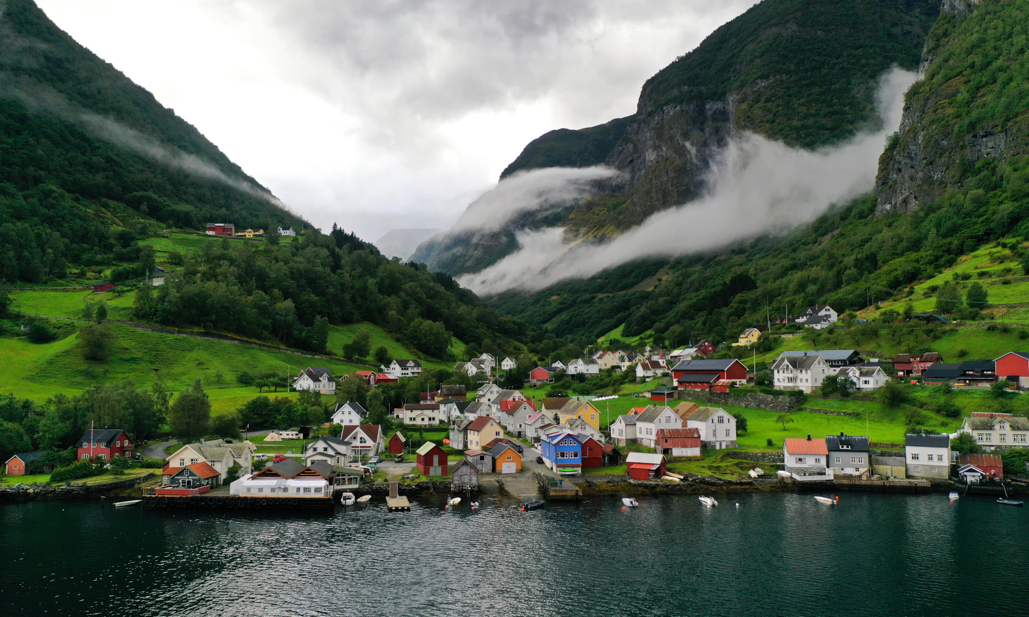 Undredal in Aurland, Norway