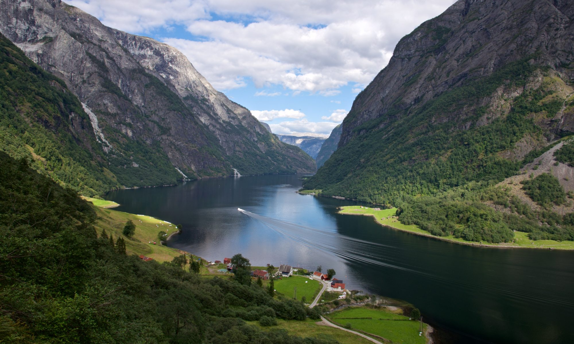 Hike to Rimstigen by the UNESCO Protected Nærøyfjord