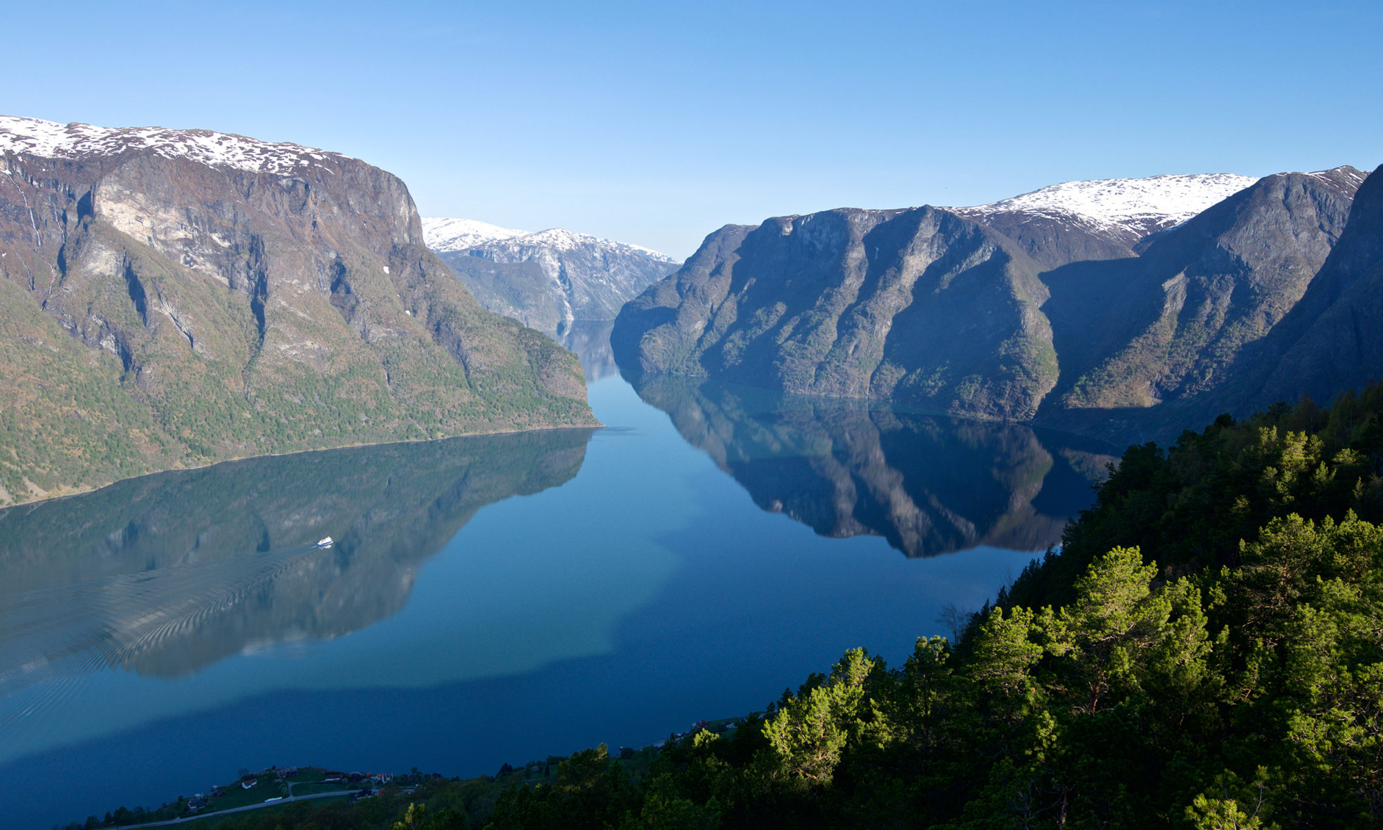 FJORDS NORWAY - Aurland and the Aurlandsfjord