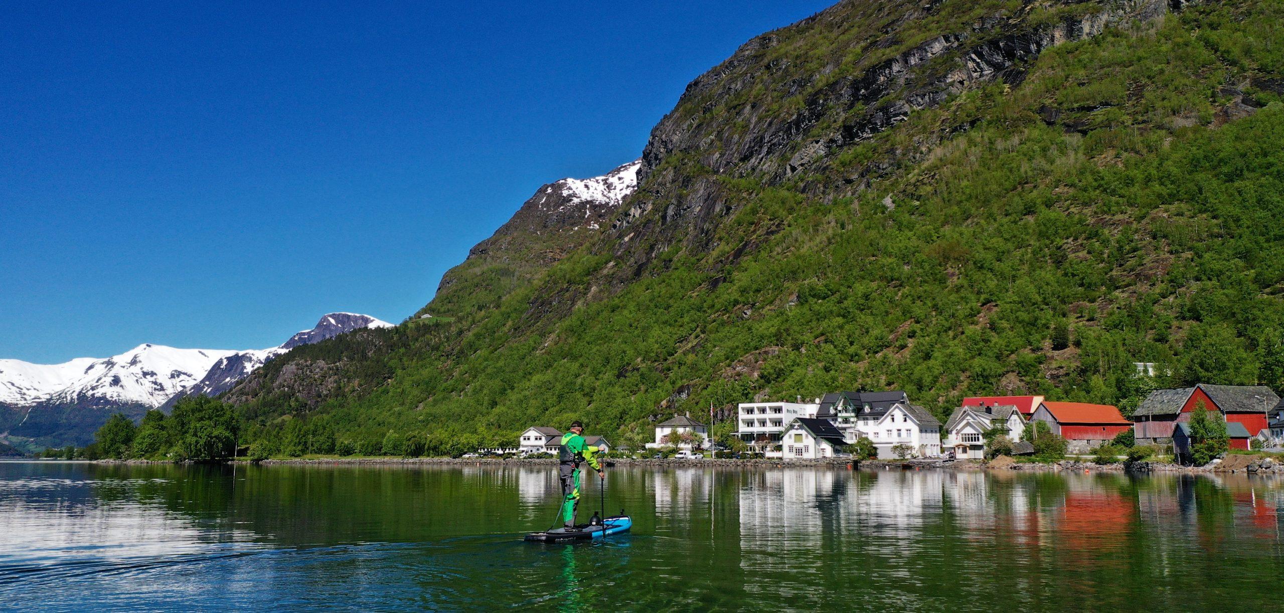 FJORDS NORWAY - Hjelle at Oppstryn in Nordfjord