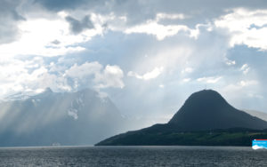 FJORDS NORWAY - Mt Torvikveten at Klungnes by the Romsdalsfjord