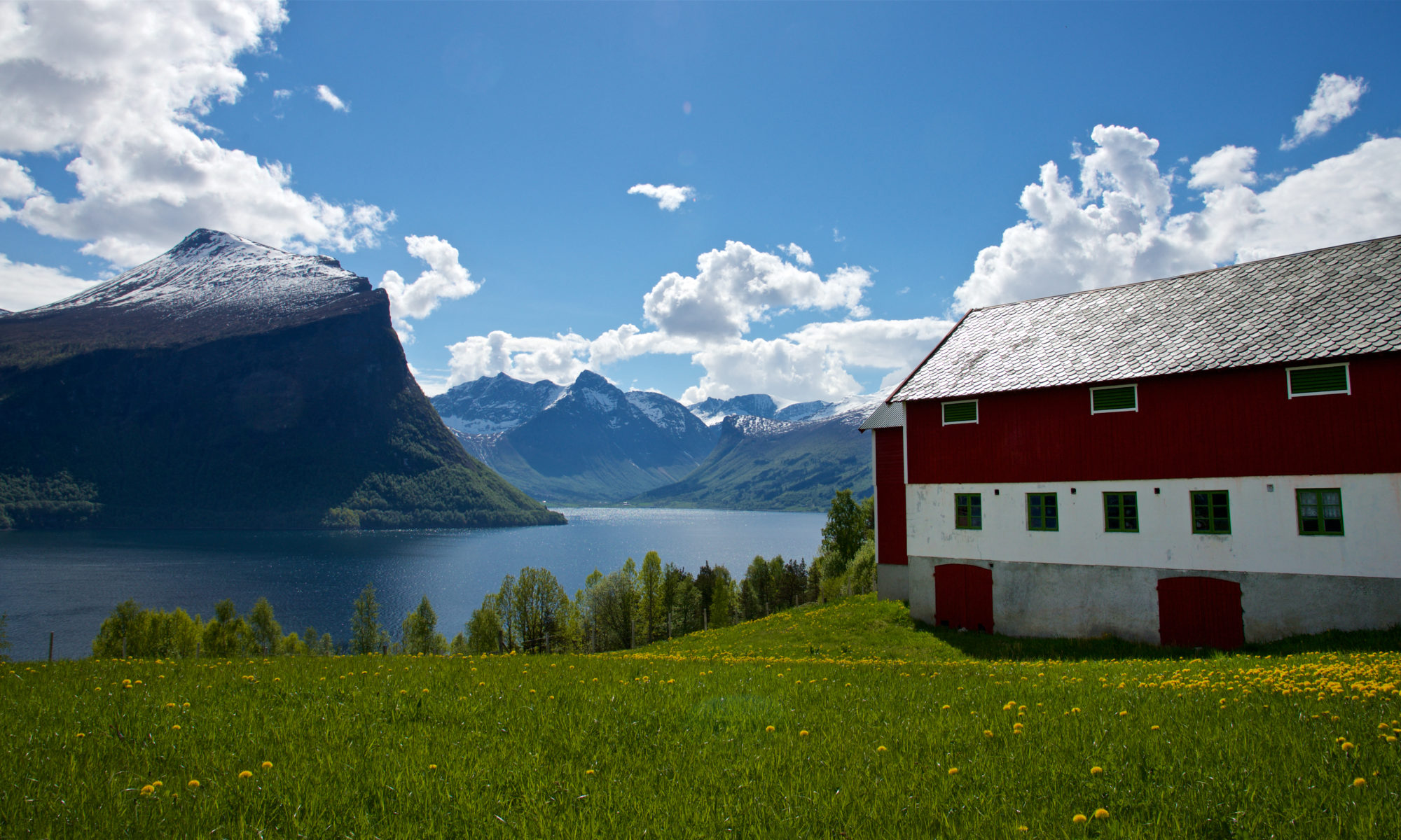 FJORDS NORWAY - Klungnes by the Romsdalsfjord