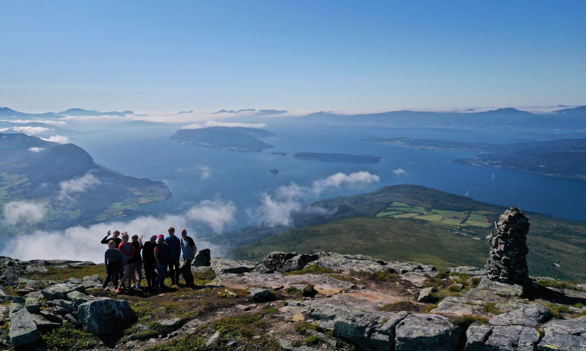 FJORDS NORWAY - Jike to Mt Tarløysa in Romsdal