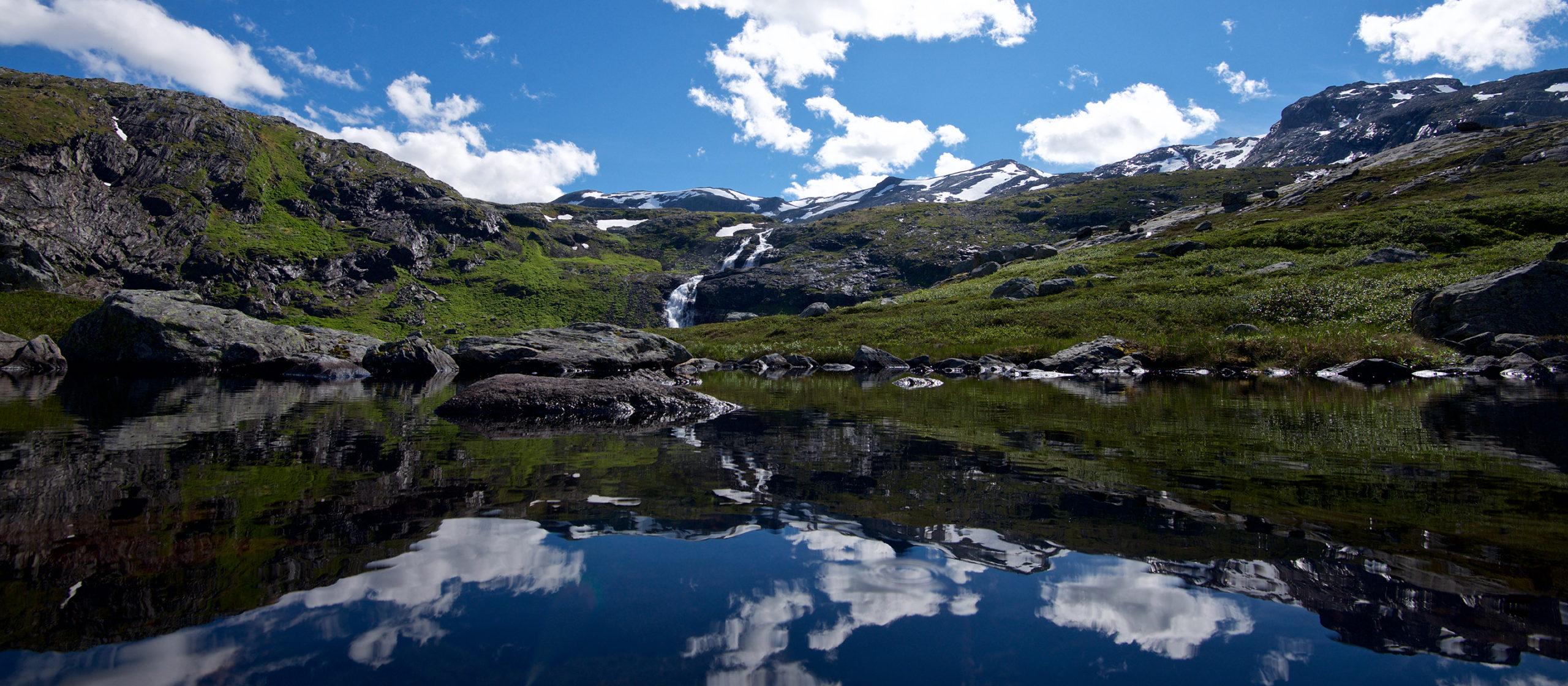 Isfjorden - Grøvdalsbakken
