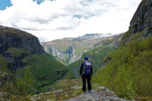 Aurlandsdalen over Bjørnestigen