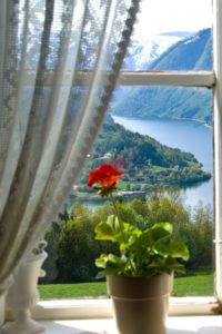 FJORDS NORWAY - Beautiful fjord view - Ulvik in Hardanger.