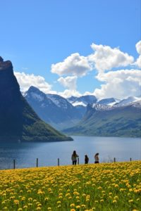 FJORDS NORWAY - Klungnes by the Romsdalsfjord.