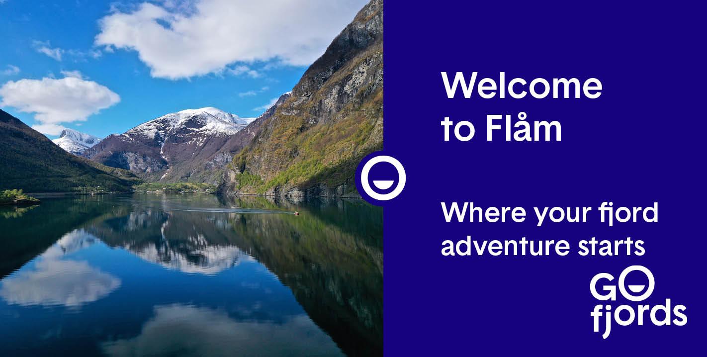 Go Fjords - Flåm by the Aurlandsfjord