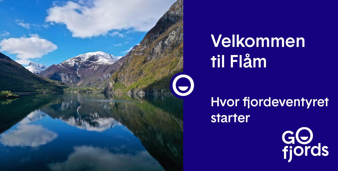 Go Fjords - Flåm ved Aurlandsfjorden