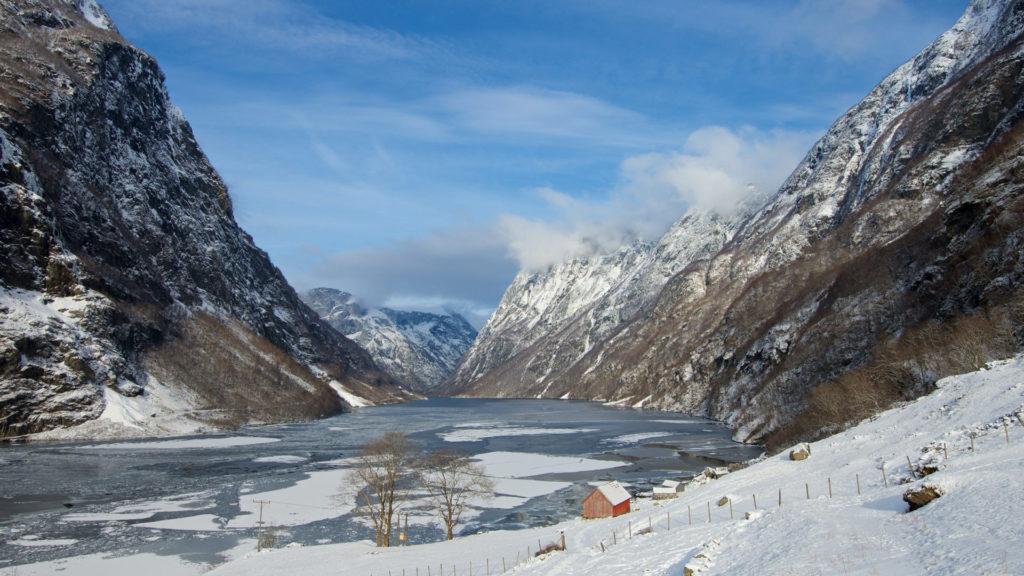 FJORDS NORWAY - Frozen Fjords