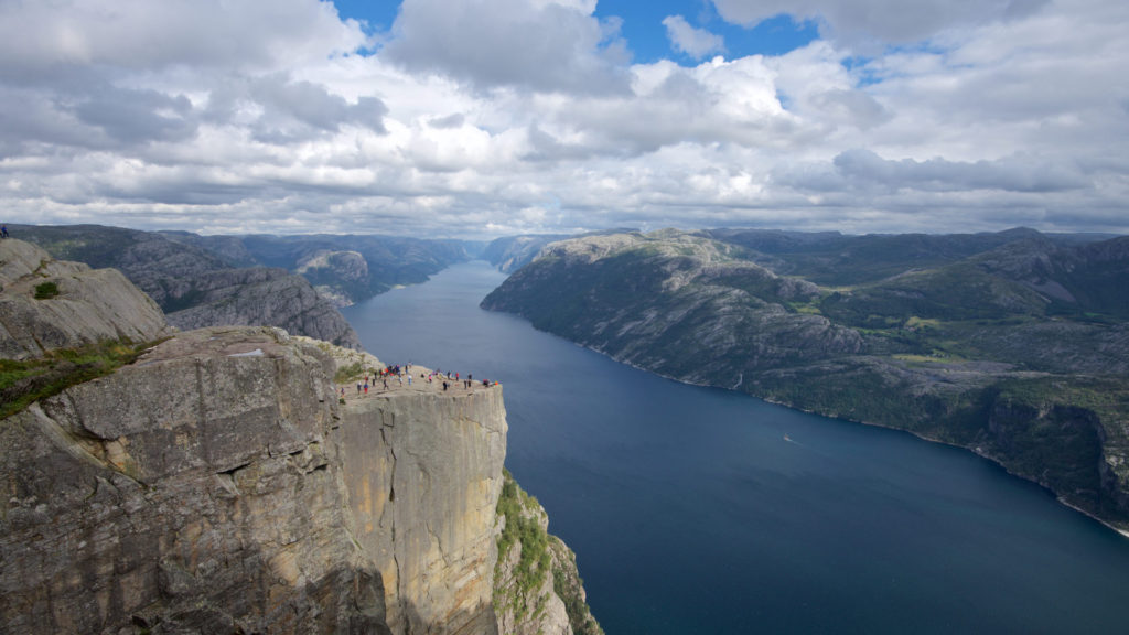 FJORDS NORWAY - The Lysefjord