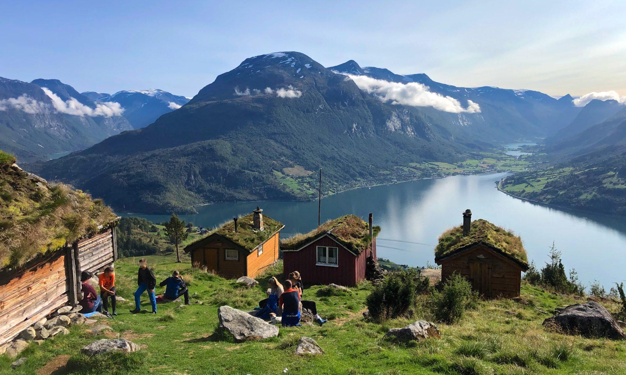 FJORDS NORWAY - Rakssetra in Loen, Stryn in Nordfjord, Norway. Photo: Eirik Heen