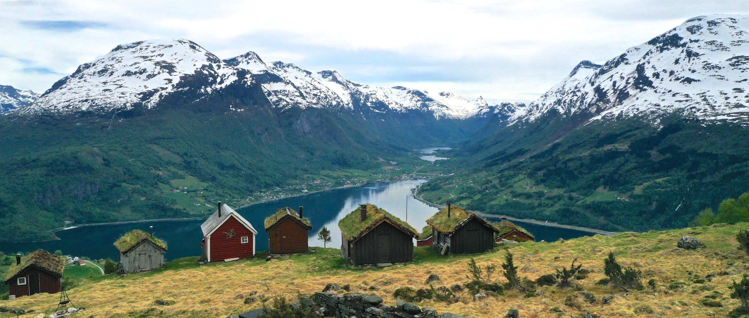 FJORDS NORWAY - Rakssetra between Loen and Stryn in Nordfjord, Norway