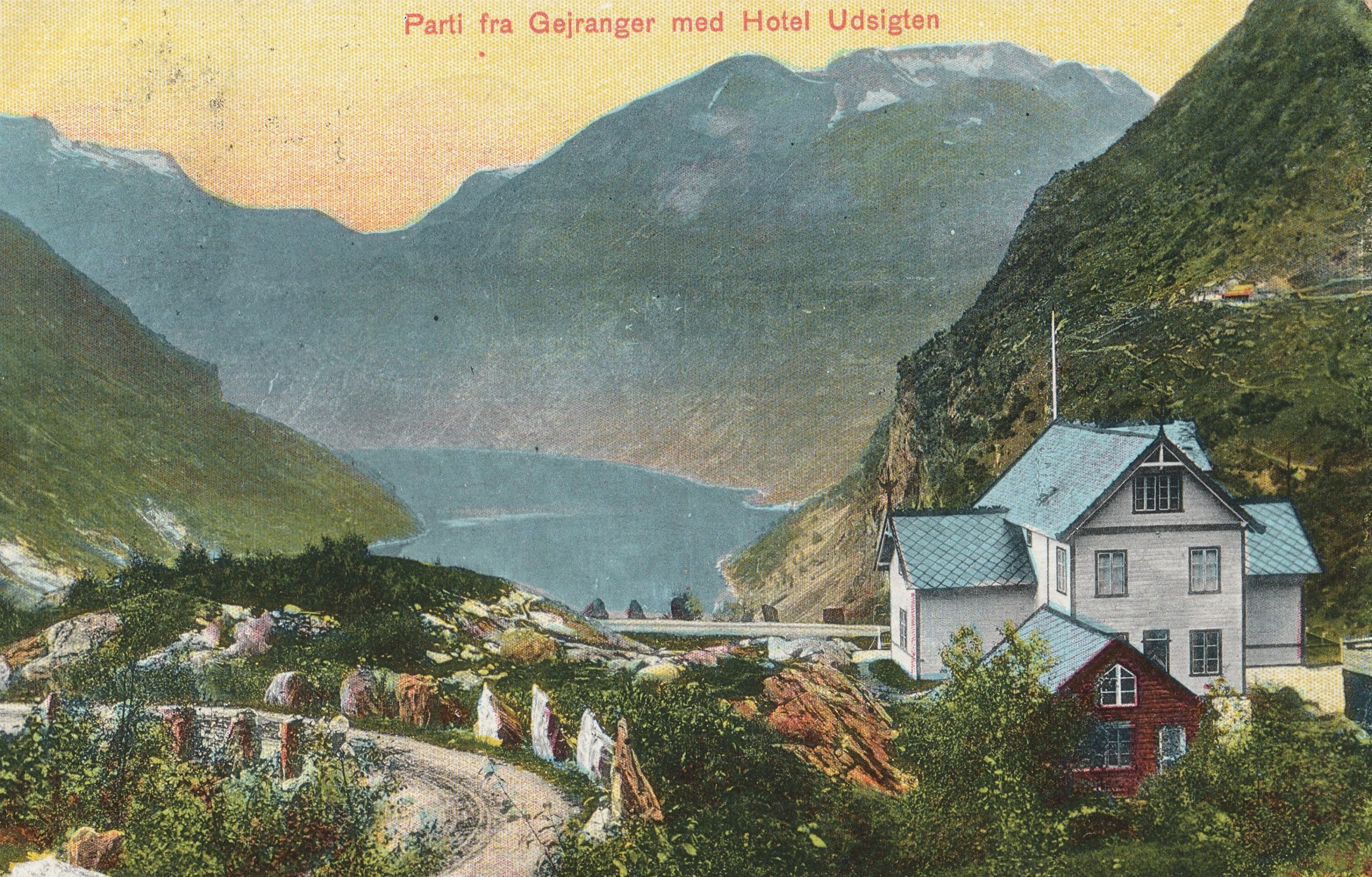 FJORDS NORWAY - Old Photos from the Geirangerfjord
