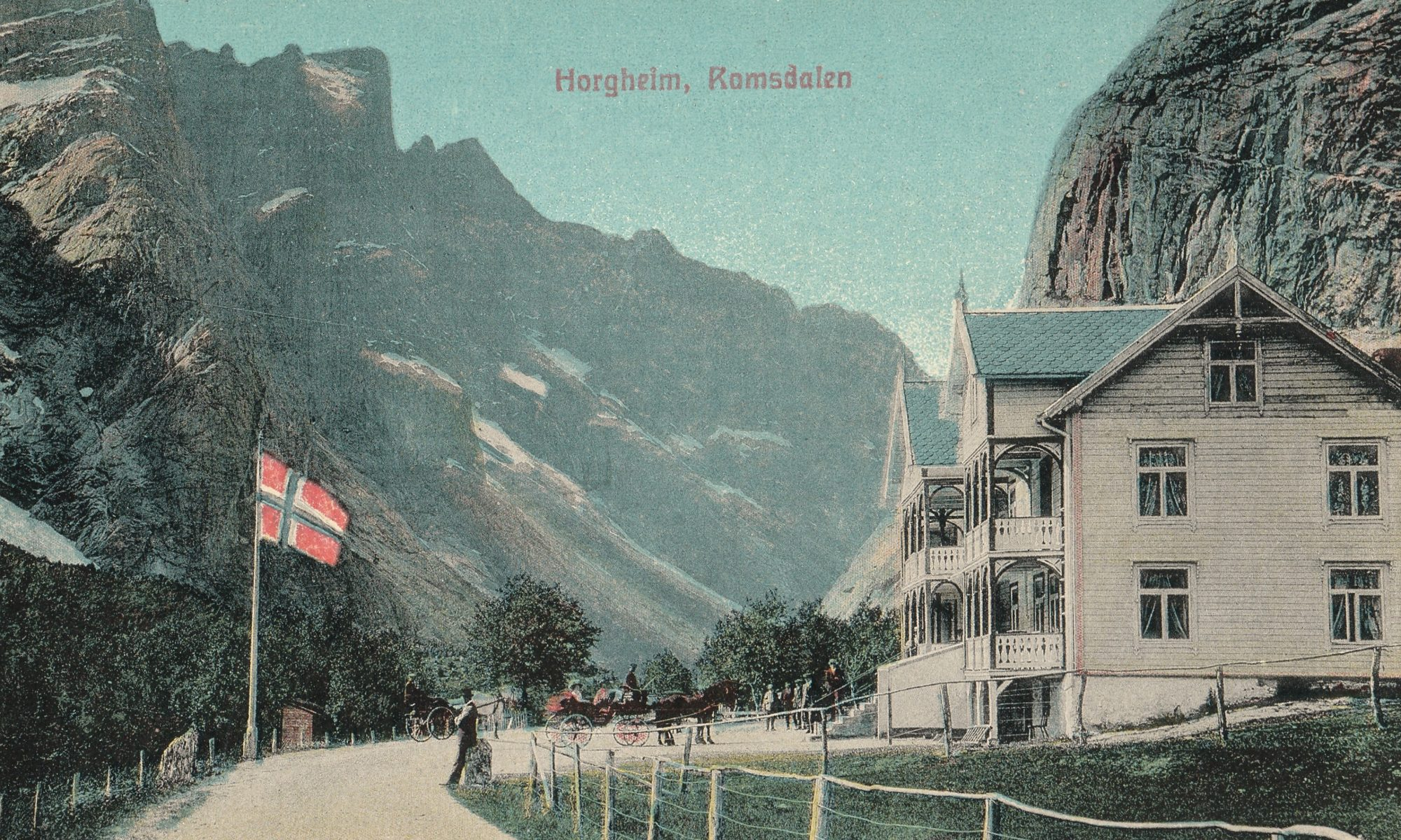 FJORDS NORWAY - Old Photos from the Romsdalsfjord