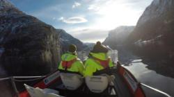 Fjordsafari with www.fjordsafari.com on the Aurlandsfjord and Nærøyfjord