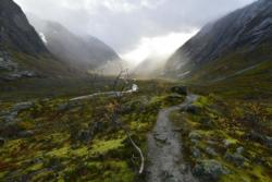 From the hike back from Austerdalsbreen towards Tungestølen