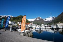 Balestrand Harbour, the starting point of many adventures on the Sognefjord and Fjærlandsfjord