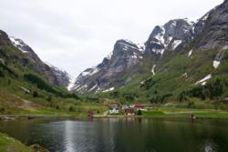 Esebotn at the inner part of Esefjorden
