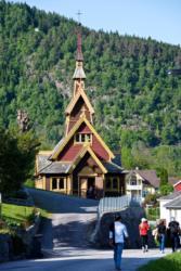 St. Olaf´s Church at Balestrand