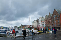 Bergen, the Gateway to the Fjords. The UNESCO Protected Bryggen.