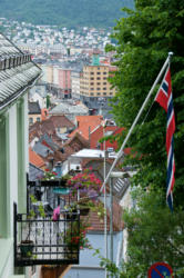 Bergen, the Gateway to the Fjords. From Fjellsiden.
