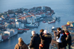 Bergen, the Gateway to the Fjords. From Fløien.