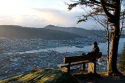 Bergen, the Gateway to the Fjords. From Fløien.