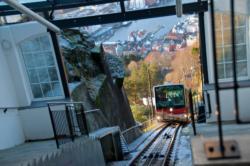 Bergen, the Gateway to the Fjords. Fløien.