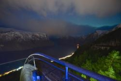 Stegastein Viewpoint and the Aurlandsfjord
